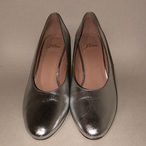 JCrew Heels. Worn once! Excellent condition!